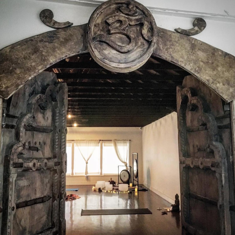 dharma yoga house sound healing chakra meditation