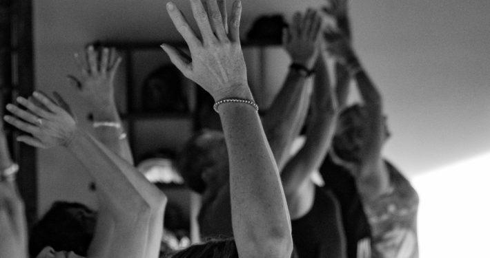 hands above head dharma yoga house